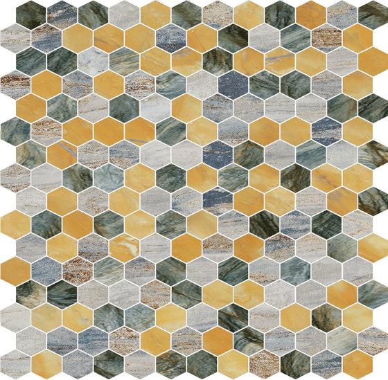 Hexagons | Type F di Gani Marble Tiles | Piastrelle pietra naturale
