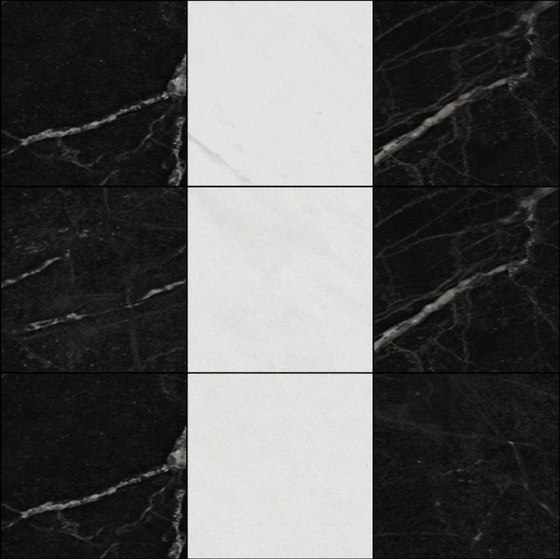 Mosaic Square 3x3 | Type B by Gani Marble Tiles | Natural stone tiles
