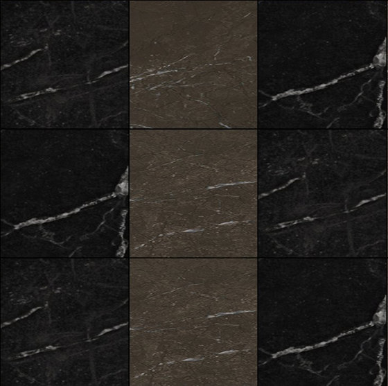 Mosaic Square 3x3 | Type D de Gani Marble Tiles | Dalles en pierre naturelle