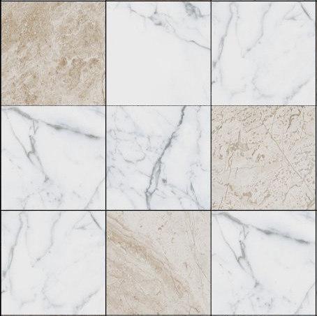 Mosaic Square 3x3 | Type E de Gani Marble Tiles | Dalles en pierre naturelle