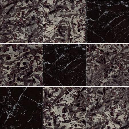 Mosaic Square 3x3 | Type H de Gani Marble Tiles | Dalles en pierre naturelle