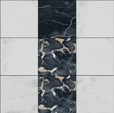 Mosaic Square 3x3 | Type J by Gani Marble Tiles | Natural stone tiles