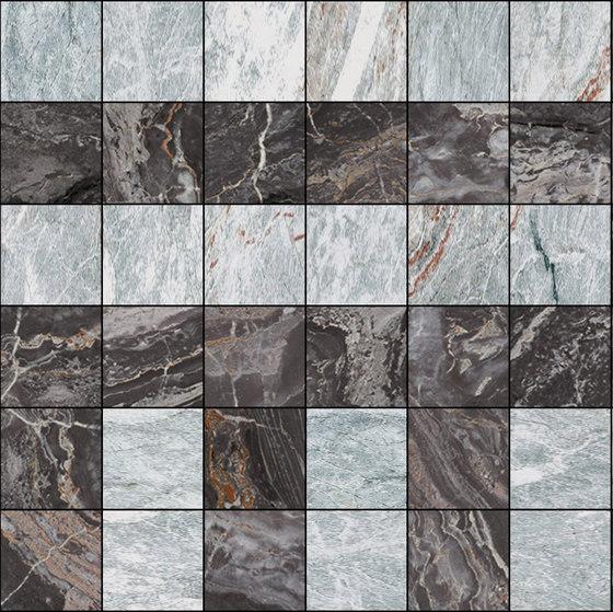 Mosaic Square 6x6 | Type C de Gani Marble Tiles | Dalles en pierre naturelle