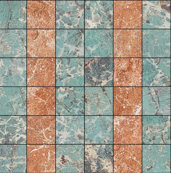 Mosaic Square 6x6   Type E de Gani Marble Tiles   Dalles en pierre naturelle