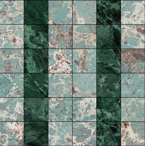 Mosaic Square 6x6 | Type G de Gani Marble Tiles | Dalles en pierre naturelle