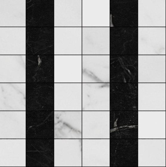 Mosaic Square 6x6 | Type H de Gani Marble Tiles | Dalles en pierre naturelle