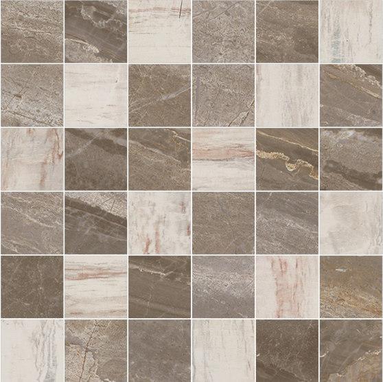 Mosaic Square 6x6 | Type J de Gani Marble Tiles | Dalles en pierre naturelle
