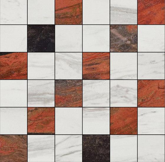 Mosaic Square 6x6 | Type K de Gani Marble Tiles | Dalles en pierre naturelle