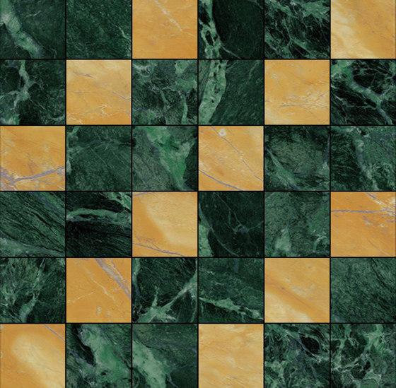 Mosaic Square 6x6 | Type L de Gani Marble Tiles | Dalles en pierre naturelle