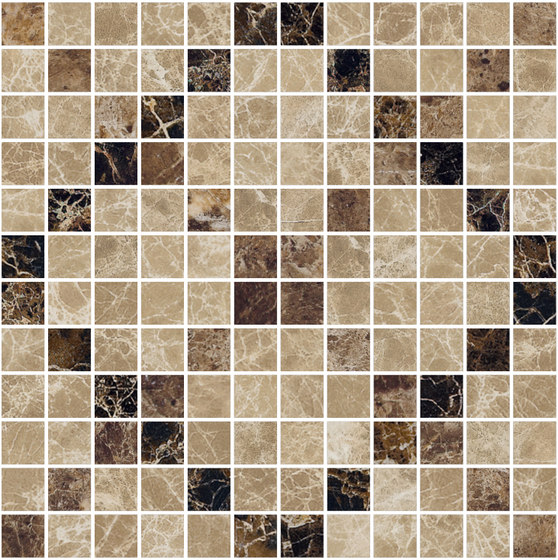 Mosaic Square CROSS 12X12 | Type G by Gani Marble Tiles | Natural stone tiles