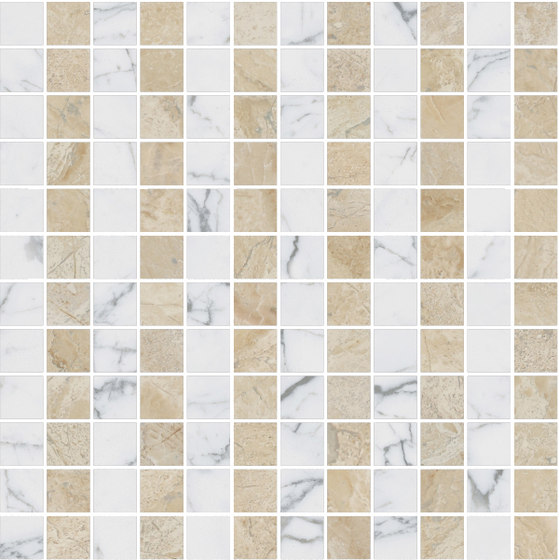 Mosaic Square LINE 12X12 | Type A by Gani Marble Tiles | Natural stone tiles