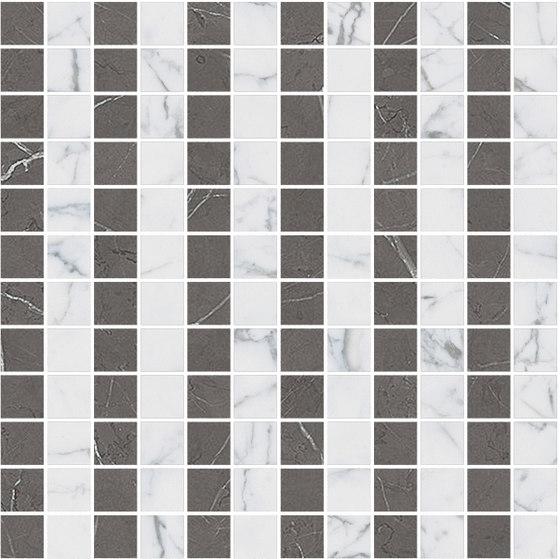 Mosaic Square LINE 12X12 | Type B de Gani Marble Tiles | Dalles en pierre naturelle