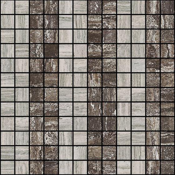 Mosaic Square LINE 12X12 | Type C de Gani Marble Tiles | Dalles en pierre naturelle
