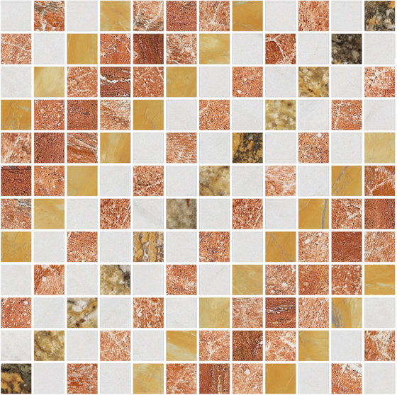 Mosaic Square SHADE 12X12 | Type M by Gani Marble Tiles | Natural stone tiles