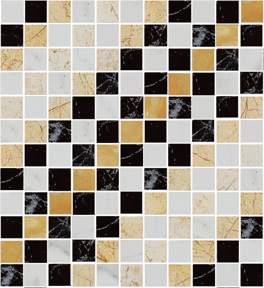 Mosaic Square SHADE 12X12 | Type N de Gani Marble Tiles | Dalles en pierre naturelle