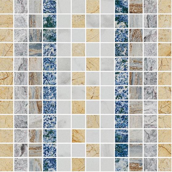 Mosaic Square SHADE 12X12 | Type D de Gani Marble Tiles | Dalles en pierre naturelle