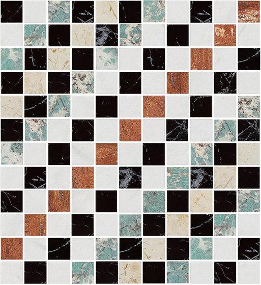 Mosaic Square SHADE 12X12 | Type P de Gani Marble Tiles | Dalles en pierre naturelle