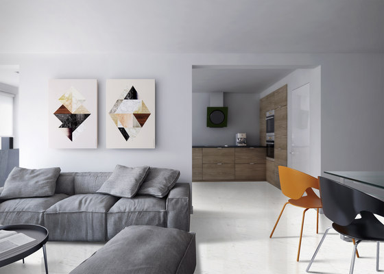 White | Ariston by Gani Marble Tiles | Natural stone panels