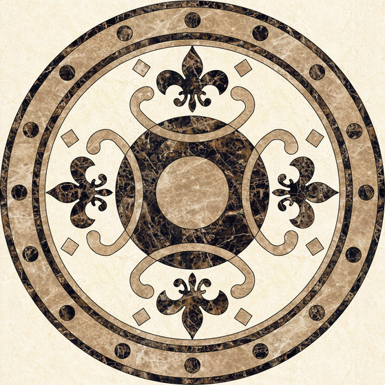 Medallion Round | PH055 by Gani Marble Tiles | Natural stone panels