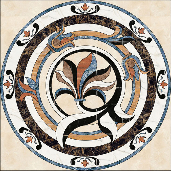 Medallion Round | PH062-1 by Gani Marble Tiles | Natural stone panels