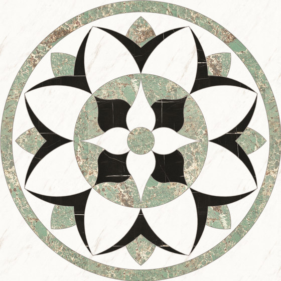 Medallion Round | PH073 by Gani Marble Tiles | Natural stone panels