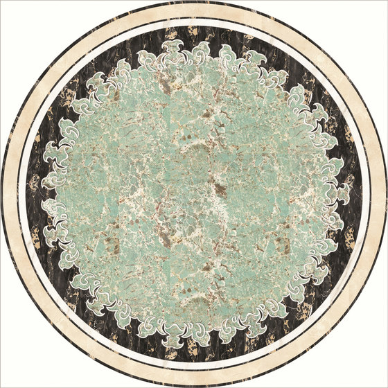 Medallion Round | PH084 by Gani Marble Tiles | Natural stone panels