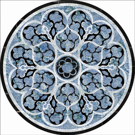 Medallion Round | PH090 by Gani Marble Tiles | Natural stone panels