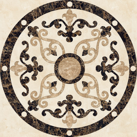 Medallion Round | PH029 by Gani Marble Tiles | Natural stone panels