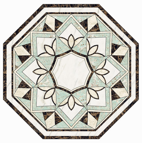 Medallion Round | PH035 by Gani Marble Tiles | Natural stone panels