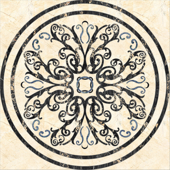 Medallion Round | PH087 by Gani Marble Tiles | Natural stone panels