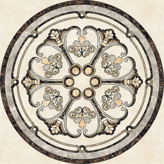 Medallion Round | PH042 by Gani Marble Tiles | Natural stone panels