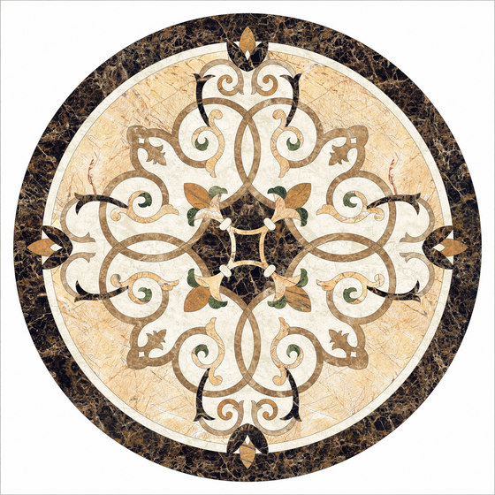 Medallion Round | PH047 by Gani Marble Tiles | Natural stone panels