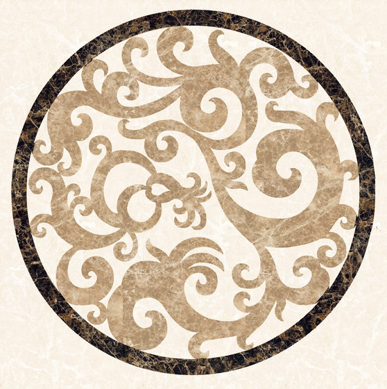 Medallion Round | PH011 by Gani Marble Tiles | Natural stone panels