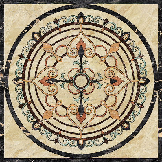 Medallion Round | PH104 by Gani Marble Tiles | Natural stone panels