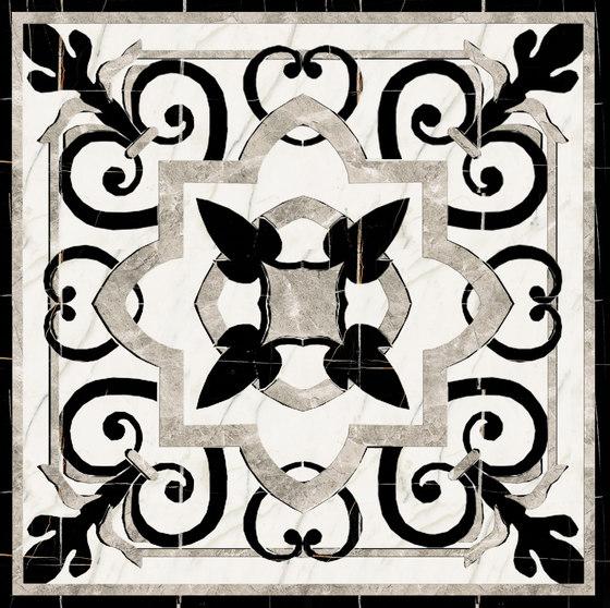 Medallion Square | PH007 by Gani Marble Tiles | Natural stone panels