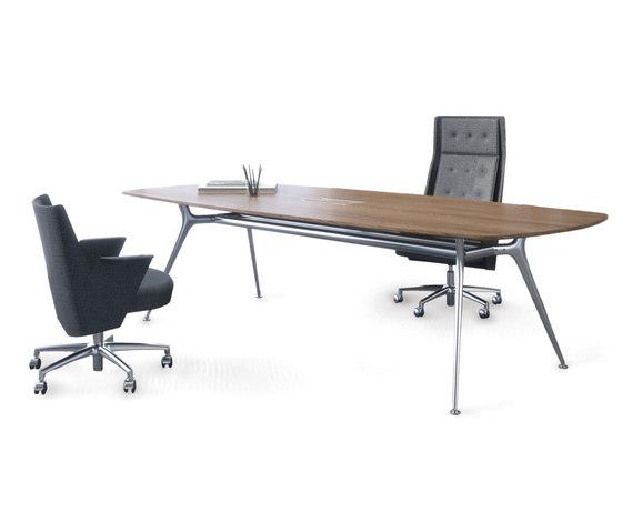 P016 | Executive Desk di Estel Group | Scrivanie individuali