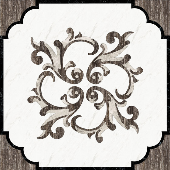 Medallion Square | PH002 de Gani Marble Tiles | Planchas de piedra natural