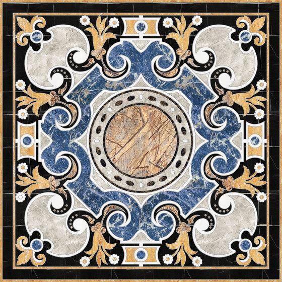 Medallion Square | PH074 by Gani Marble Tiles | Natural stone panels