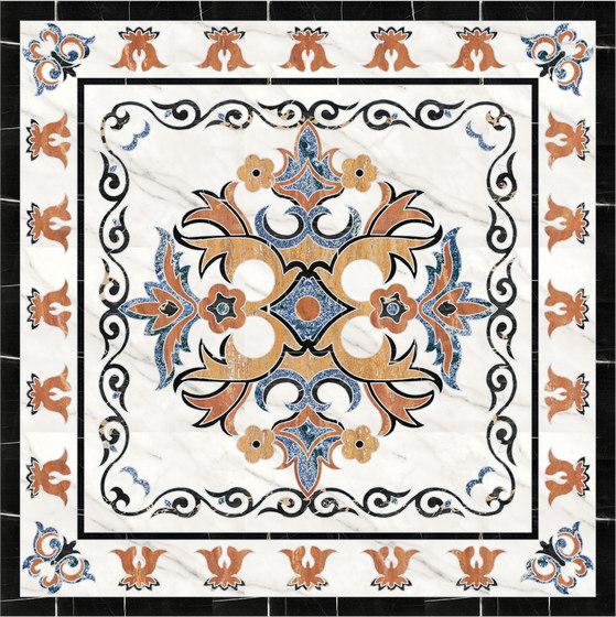 Medallion Square | PH091 by Gani Marble Tiles | Natural stone panels