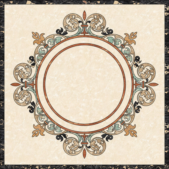 Medallion Round | PH105 by Gani Marble Tiles | Natural stone panels