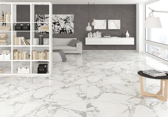 White | Statuario by Gani Marble Tiles | Natural stone panels