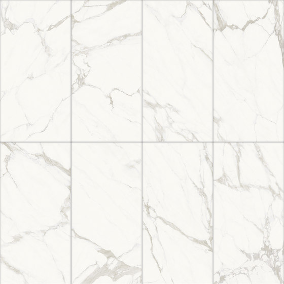 White | Statuario Calacatta by Gani Marble Tiles | Natural stone panels