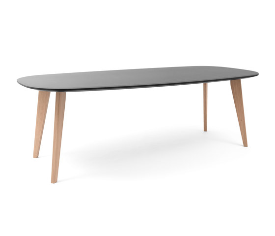 Sqround Extended Table de Tristan Frencken | Tables de restaurant
