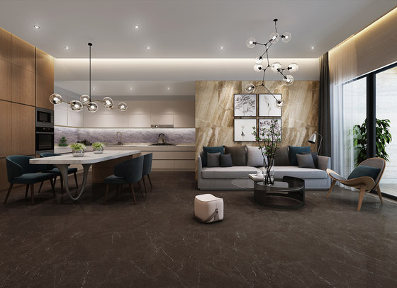 Brown | Olive Brown by Gani Marble Tiles | Natural stone panels
