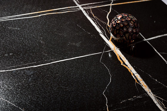 Black | Laurent Black de Gani Marble Tiles | Panneaux en pierre naturelle