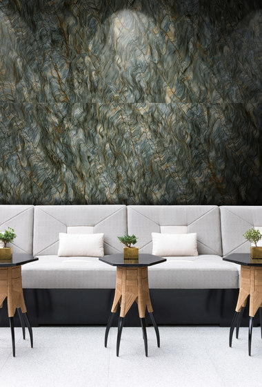 Green | Ocean Grass Agate by Gani Marble Tiles | Natural stone panels