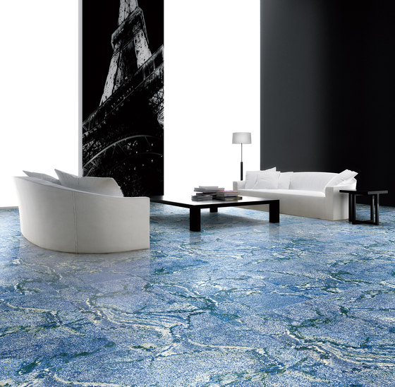 Blue | Azul Bahia by Gani Marble Tiles | Natural stone panels
