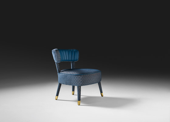 Anic armchair von black tie | Sessel