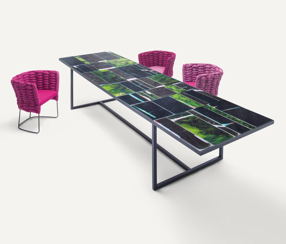 Sciara by Paola Lenti | Dining tables
