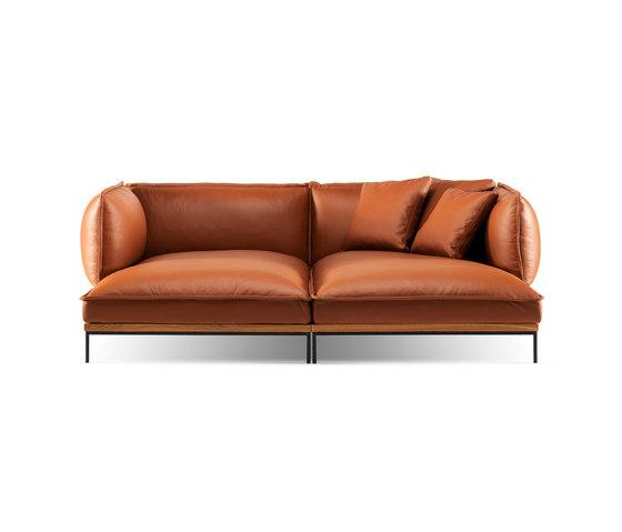 Jord Double chaise lounge di Fogia   Divani